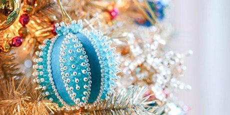 Make-Your-Own-Vintage Beaded Christmas Ornament tickets