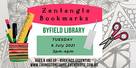 Zentangle Bookmarks @ Byfield Library tickets