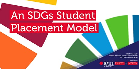 Sustainable Development Goals Seminar Series tickets