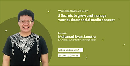 5 Secrets to Grow and Manage Your Business Social Media Account tickets