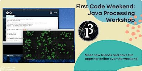 Java Processing Workshop biglietti