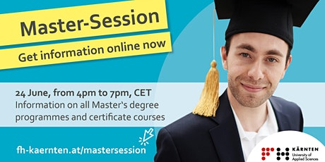 Master Session Online - Applied Data Science tickets