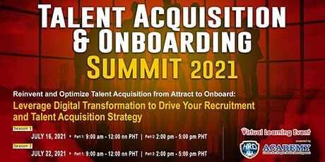 Talent Acquisition and Onboarding Summit 2021 tickets