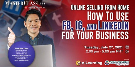 2nd Online Selling From Home: How to Use Facebook, Instagram, and LinkedIn tickets