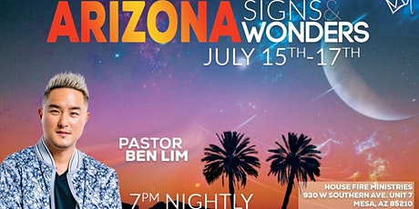 Arizona Signs & Wonders tickets