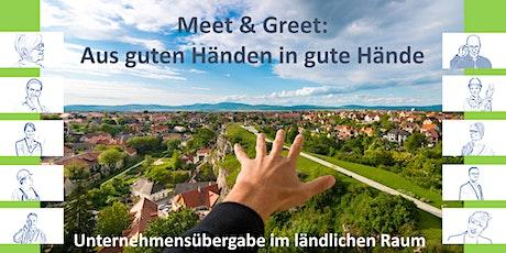 Meet & Greet: Aus guten Händen in gute Hände Tickets