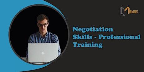 Negotiation Skills - Professional 1 Day Virtual Training in Tampico tickets