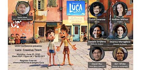 LUCA Exclusive Panel w/ Director Enrico Casarosa & Key Artists tickets