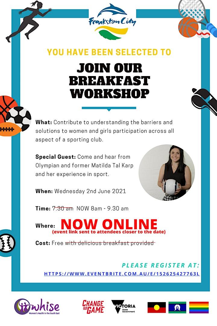 Changing Club Culture - Gender Inclusive Workshop 1 image