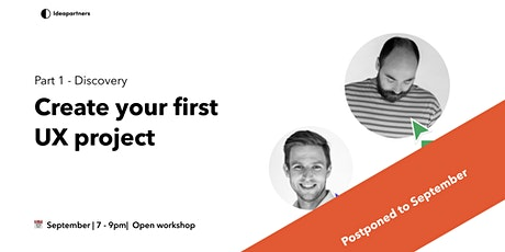 Create your first UX project tickets
