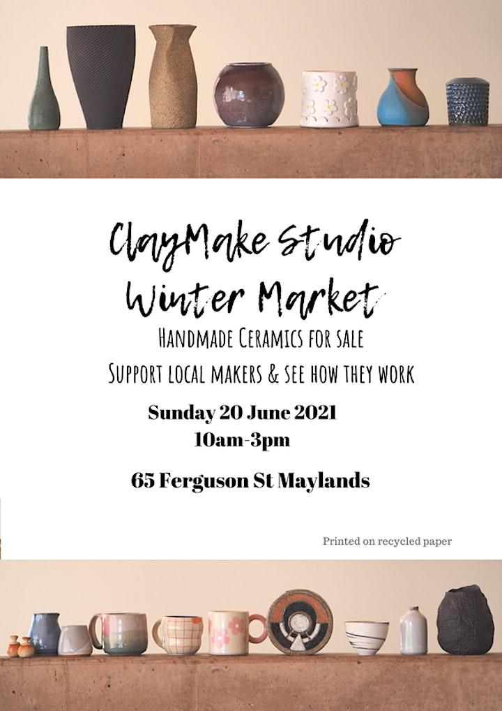 ClayMake Studio Winter Market image