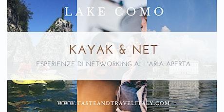 Kayak & Business Networking - BELLAGIO (LAGO DI COMO) biglietti