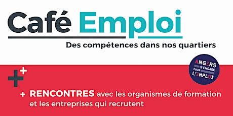 Café Emploi - Des compétences dans nos quartiers  08/07/2021 billets