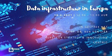 Digital Lunch #3: Data infrastructuur in Europa biglietti