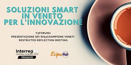 Soluzioni smart in Veneto per l'innovazione biglietti