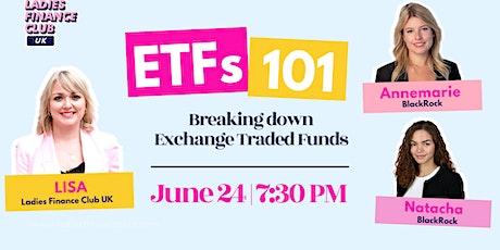 ETFs 101 tickets