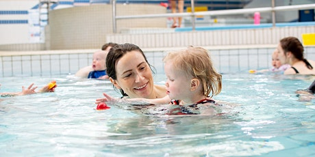 Adult and Child (2-3½ years)Class - Swimming Lessons (Weekends) tickets