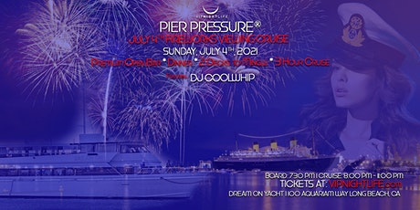 Long Beach July 4th Under the Fireworks Cruise tickets