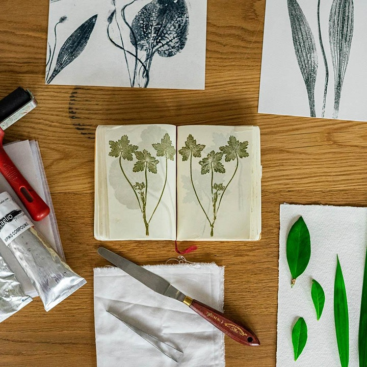 Printing With Nature with Pia Östlund image