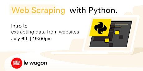 Web Scraping with Python ingressos