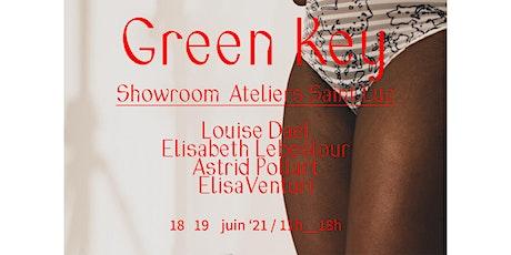GREEN KEY SHOWROOM SAINT-LUC tickets