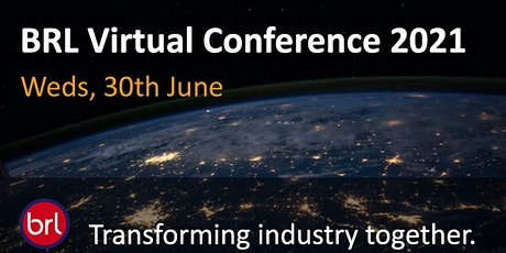 BRL Virtual Conference 2021 tickets
