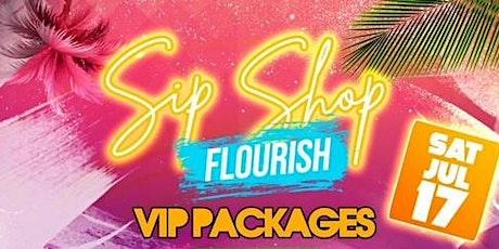 The Sip Shop Flourish Experience tickets