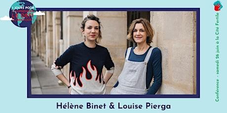 """Conférence - """"J'agis pour le climat """" par Hélène Binet et Louise Pierga billets"""