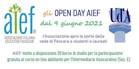 Incontri in sede AIEF Pescara tickets