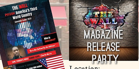 The Wall Magazine Launch Party & Book Signing! tickets