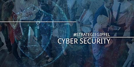 #Strategiegipfel Cyber Security Tickets