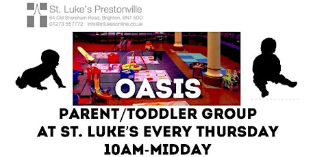 Oasis Parent/Toddler group tickets