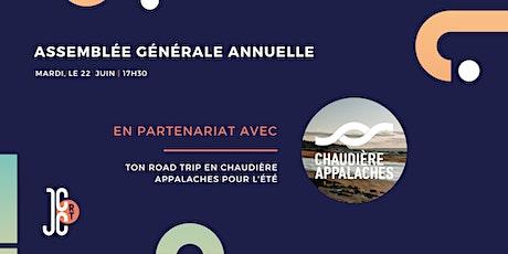 Assemblée générale annuelle + Ton road trip en Chaudière Appalaches billets