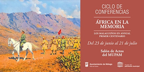 """CICLO DE CONFERENCIAS """"África en la memoria"""". entradas"""