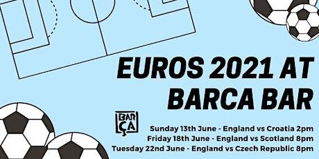 Euros 2021- England vs Czech Republic tickets