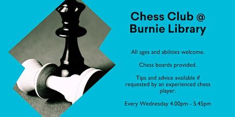 Chess Club @ Burnie Library tickets