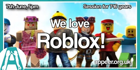 Girls/Teens Appeer weekly ROBLOX session tickets