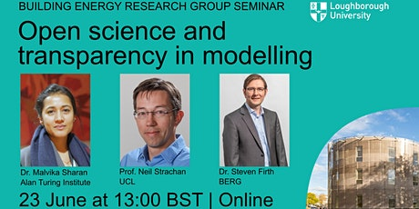 BERG Seminar 8: Open science and transparency in modelling tickets