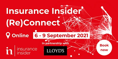 Insurance Insider (Re)connect tickets