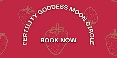 Fertility Goddess Moon Circle tickets