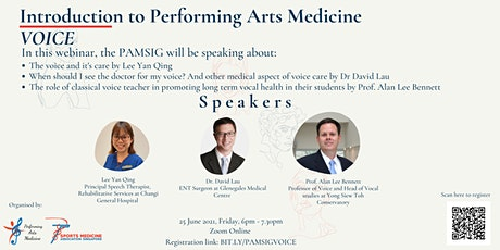 Introduction to Performing Arts Medicine: Voice tickets