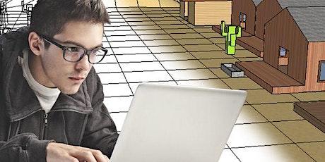 Modellazione 3D videogiochi 11-14 anni - corso breve -online - giugno 2021 biglietti