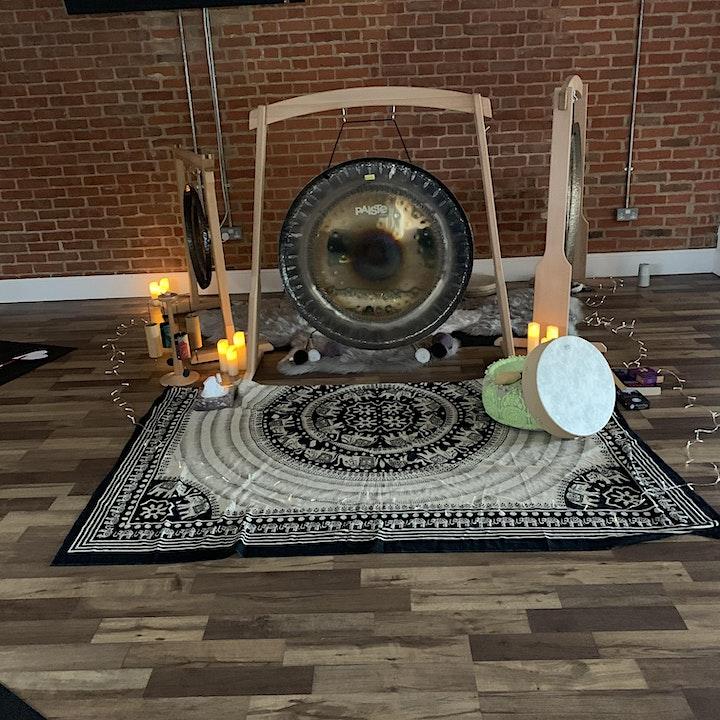 Sound Healing Gong Bath image