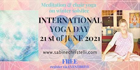 INTERNATIONAL YOGA DAY CELEBRATION - JUNE 21ST 2021 - ADELAIDE tickets