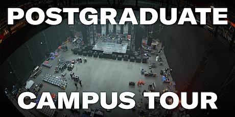 Postgraduate Campus Tour tickets