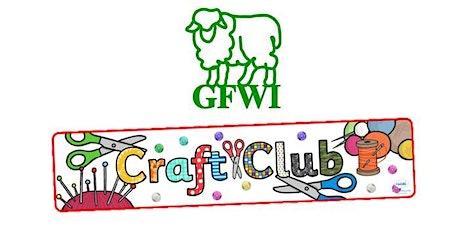 GFWI Craft Club tickets