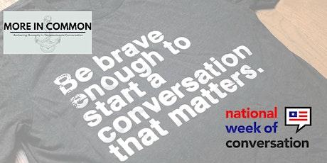 Cleveland Conversation Initiative - National Week of Conversation Event tickets