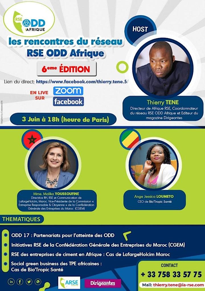 Image pour Webinaire N°6 du réseau RSE ODD en Afrique : ODD 17 et RSE des cimenteries