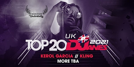 DJane Mag presents Top 20 UK DJanes 2021 tickets