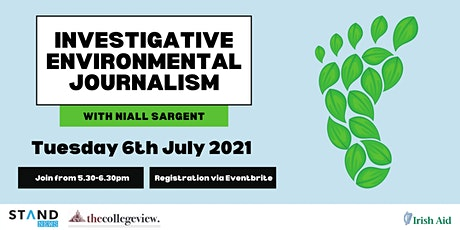 Investigative Environmental Journalism with Niall Sargent tickets